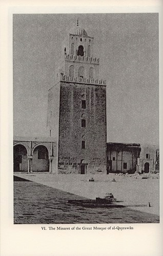 The Minaret of the Great Mosque of al-Qayrawân. P: Courtesy of Professor K.A.C. Greswell  © Bollingen Foundation Inc., New York, N. Y.