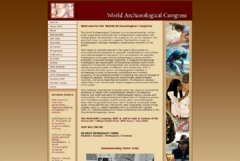 World Archaeological Congress
