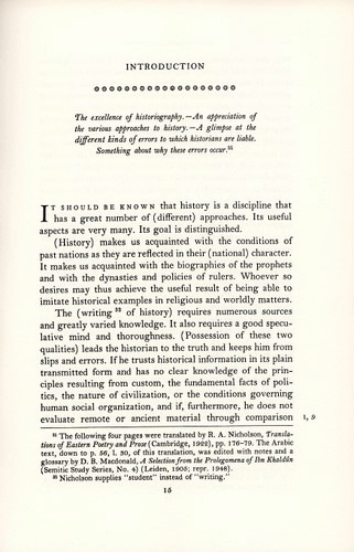 The Introduction of the World History © Bollingen Foundation Inc., New York, N.Y.
