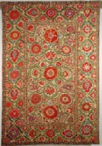 Colours of the Silk Road: Suzani embroideries from Uzbekistan