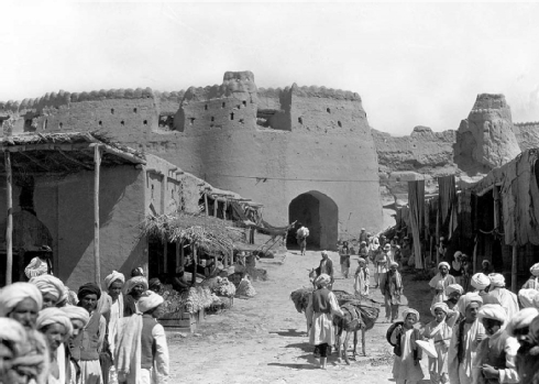 Fig. 1 The Qandahar Gate in Herat, Afghanistan (photo by Maynard Owen Williams, National Geographic, 1933)