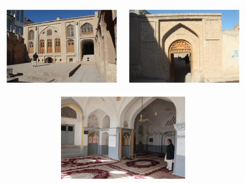 Fig. 8 The Gol Synagogue or Gulaki Synagogue converted into the Hazrat Belal Mosque with the mihrab (prayer niche) as the most sacred part of the qibla (direction facing Mecca), 2015 (photo by Sarajudin Saraj, courtesy of www.museo-on. com)